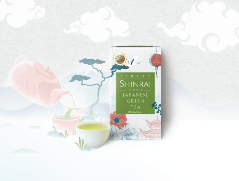 SHINRAI Japanese Green Tea from the House of Finlay